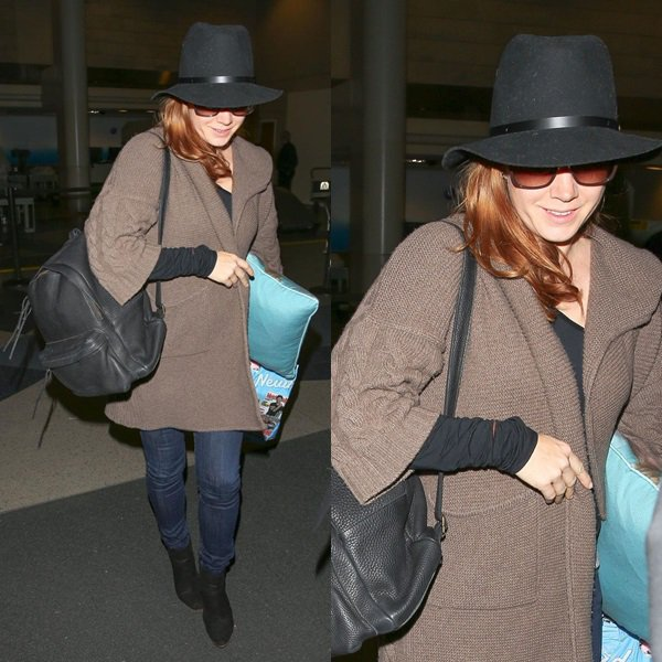 28 avril 2015 | Amy à l'aéroport de Los Angeles