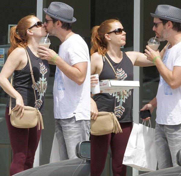 30 Avril 2015 | Amy et  Darren chez XIV Karats jewellery (Bijouterie) à Beverly Hills