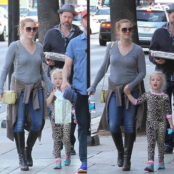 16 Mai 2015 | Amy et sa famille préparant les 5 ans d'Avianna à Los Angeles