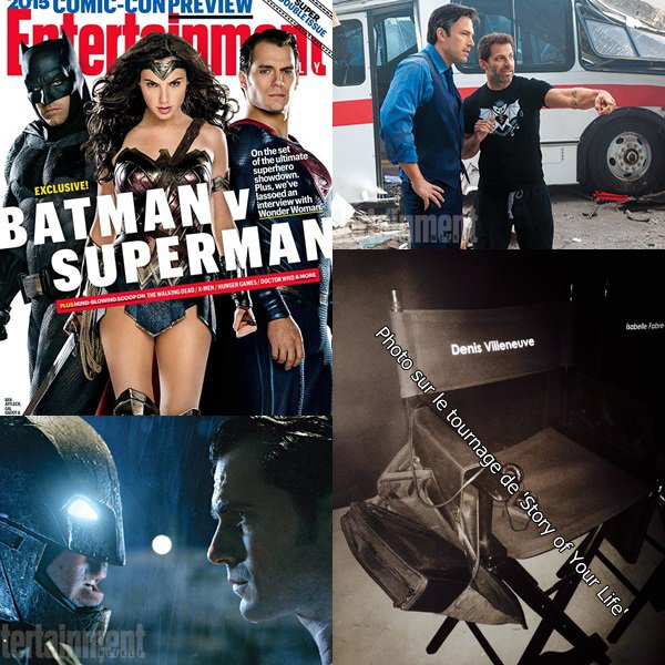 "Premières photos officielles de ""Batman V Superman : Dawn of Justice"""