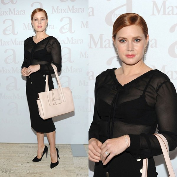 18 Octobre 2015 | Max Mara Spring/Summer 2016 Accessories Campaign Celebration