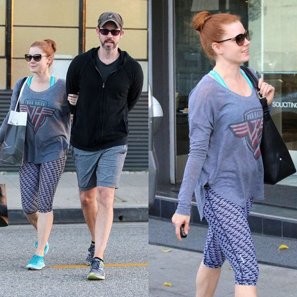 03 Décembre 2015 | Amy et son mari Darren à Beverly Hills