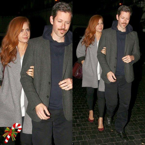 12 Décembre 2015 | Amy et son mari Darren aux Chateau Marmont