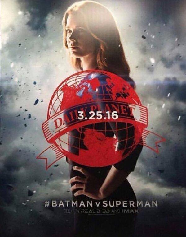 Nouvelle affiche officielle du film Batman v Superman
