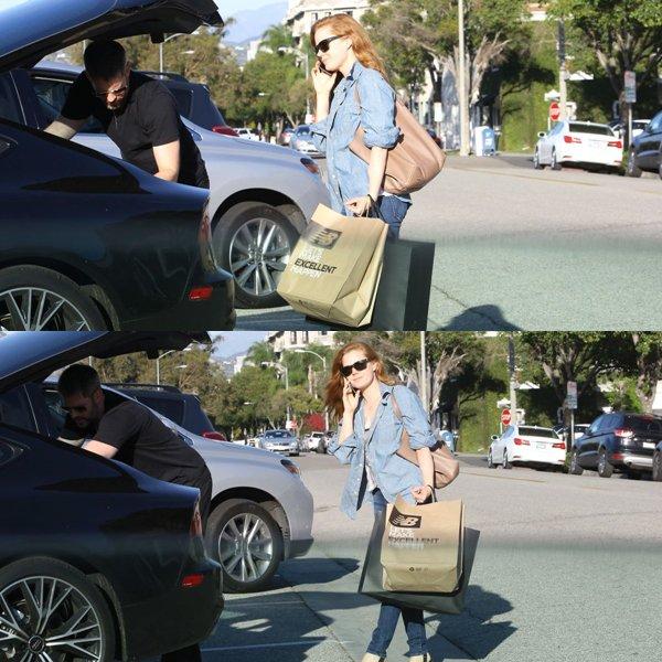 24 Février 2016 | Amy avec Darren en shopping à Beverly Hills