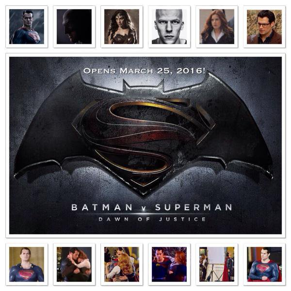 Diverses photos pour la promo de Batman V Superman