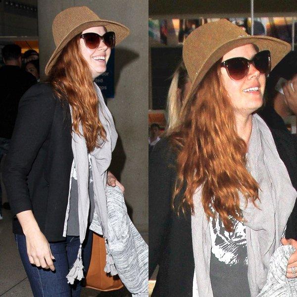11 Juillet 2016 | Amy à l'aéroport de Los Angeles (LAX)