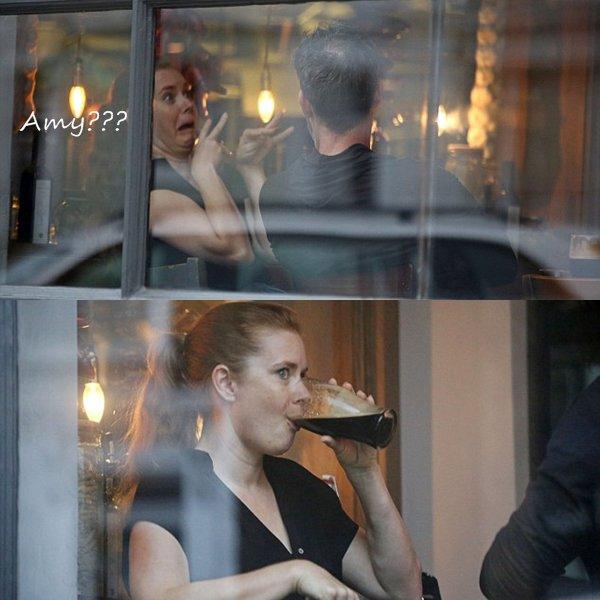 3 Août 2016 | Amy avec Darren à Claridges Hotel
