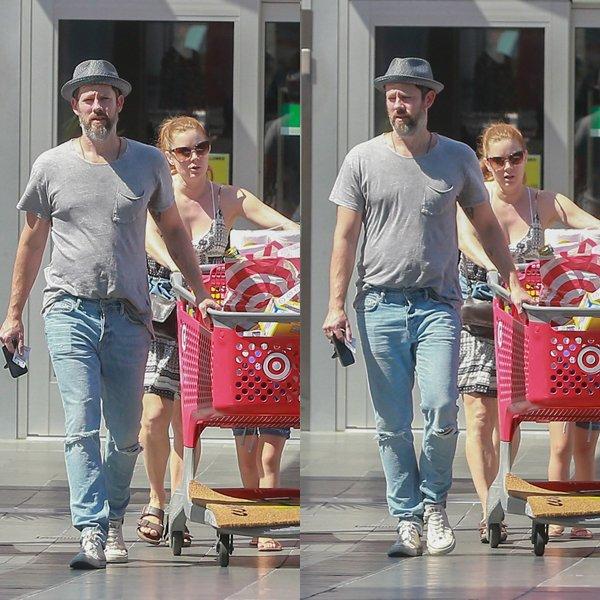 12 Août 2016 | Amy avec Darren à Los Angeles