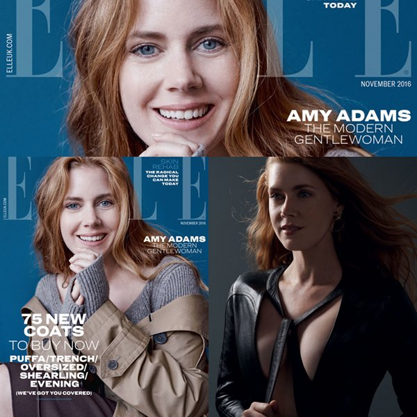 "Amy en couverture de Elle ""Women in Hollywood Issue"" (Novembre 2016)"