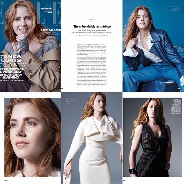 Scans pour Elle UK de Novembre 2016