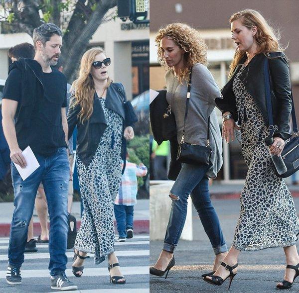 10 Juin 2017 | Amy avec Darren dans Westwood en Californie