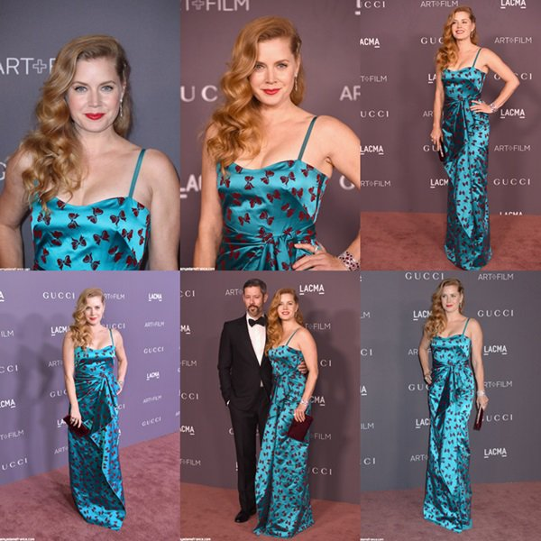 4 Novembre 2017 | Amy Adams au LACMA Art + Film Gala 2017