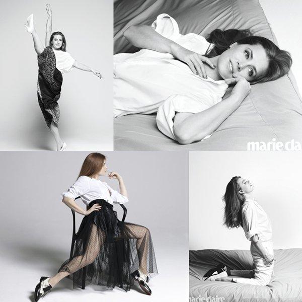 Photoshoot pour Marie Claire (Juillet 2018)