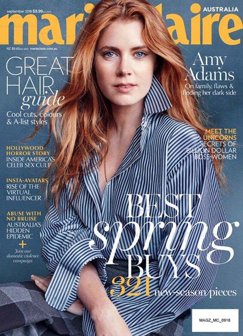 Cover | Marie Claire Australia (Sept 2018)