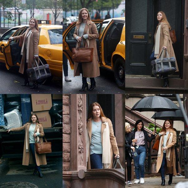 26 Septembre 2019│Sur le tournage du film 'The Woman In The Window'
