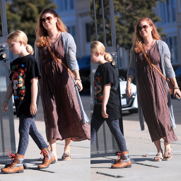 20 Octobre 2019│Amy et sa fille à West Hollywood