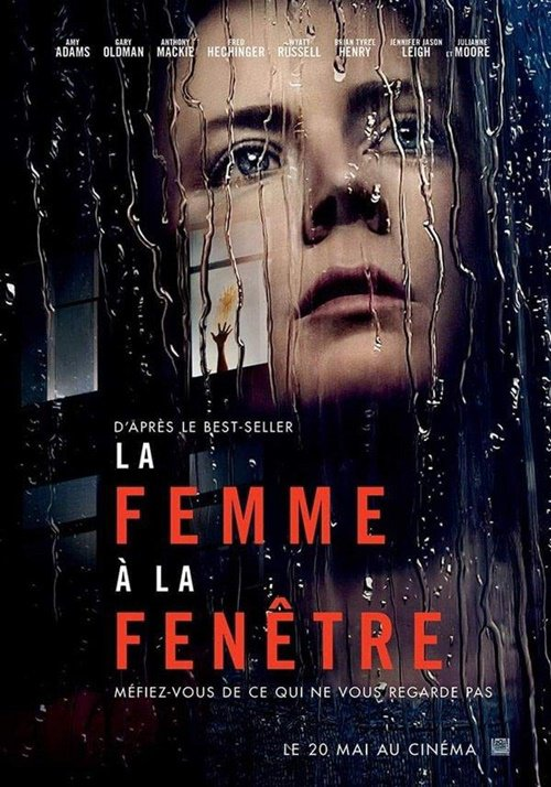 Affiche Française du film The Woman in the Window.