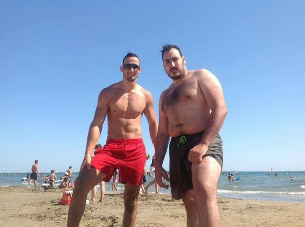 moi et mon pote a  la  plage trop  bein con truc de  malade