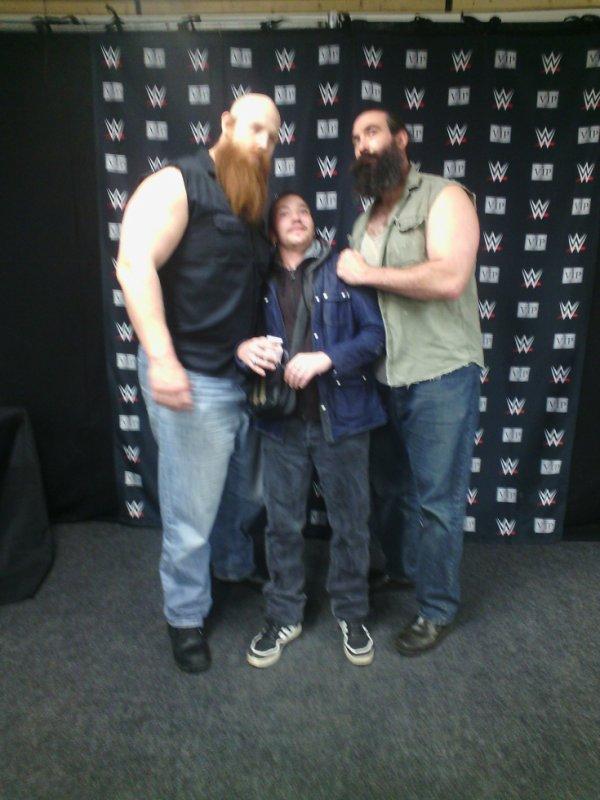 Moi,Érik Rowan et Luke Harper