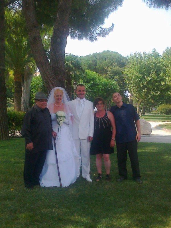 Moi, ma mère, mon grand père, mon cousin et sa femme