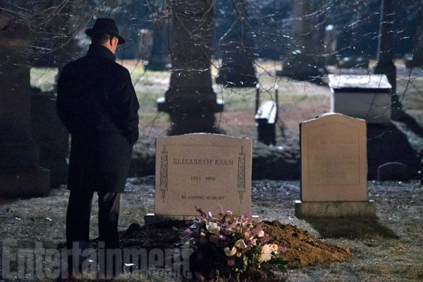 The Blacklist saison 3 épisode 20 enterrement de Elisabeth Keen!
