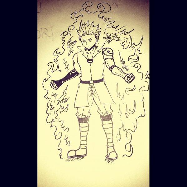 Le Profanateur , un guerrier féroce qui lutte contre les spectres de ce monde ...