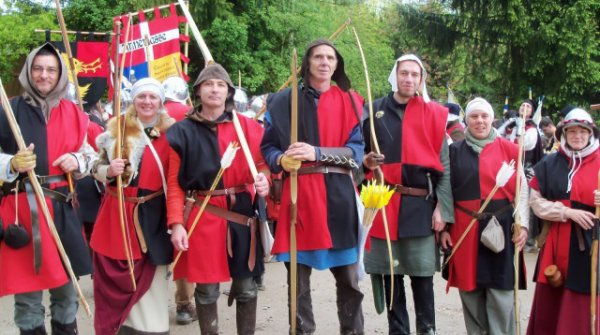 Des archers