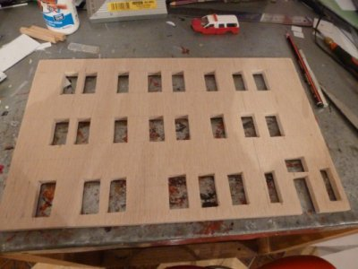 maquettes d'une caserne FDNY