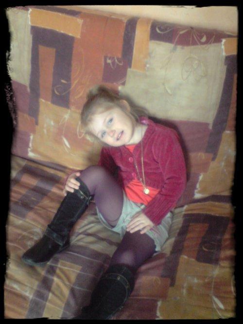 Ma fille.