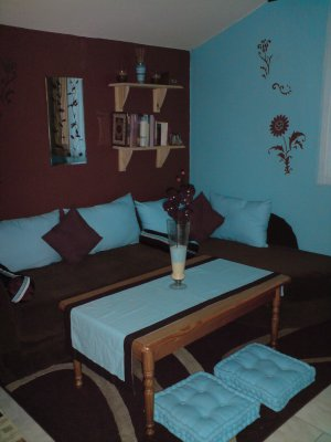 Emejing Chambre Adulte Marron Turquoise Contemporary - Design Trends ...