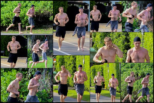11.05.2018 : Charlie a été aperçu avec Garrett Hedlund en pleine séance de footing dans Honolulu à Hawaï