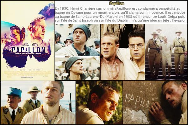 Découvre la bande annonce, le synopsis et les images du film « Papillon»  (sortie : 15 août 2018)