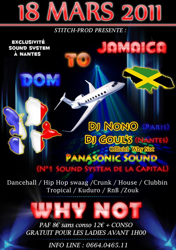 DOM TO JAMAICA