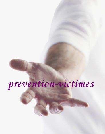 Association : PRÉVENTION VICTIMES. Identification R.N.A. : W634001403 No de parution : 20100044 Siège social : place au Fil, 63330 Pionsat Département (Région) : Puy-de-Dôme (Auvergne)      prevention-victimes@laposte.net