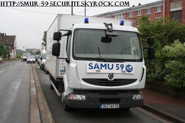 camion du SAMU du 59