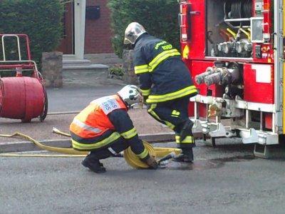 Incendie Avenue st Roch a Valenciennes
