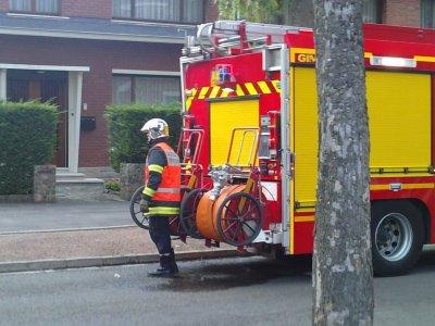 Incendie Avenue St Roch a Valenciennes (suite)
