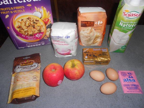 Gateau aux cereales facile