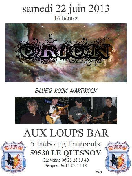 premier concert aux loups bar :) bon week-end a toutes & tous bisousss A&R