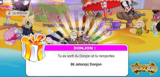 86 jetons du DONJON! [RECORD BATTU]