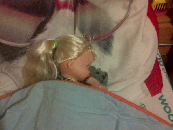 Les deux premières nuits de Cathie à la maison.