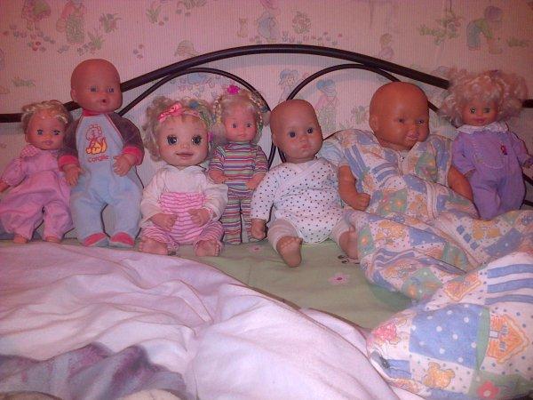 Tout le monde en pyjama et tenue de nuit !