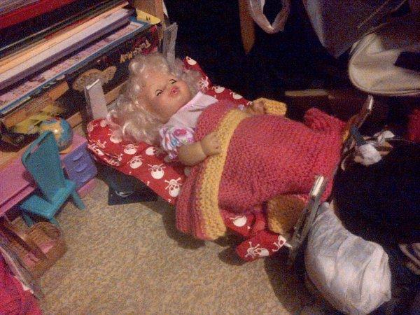 Le nouveau lit de Gwendoline