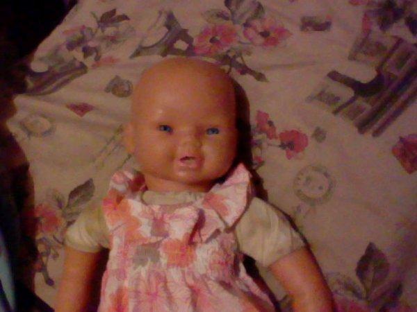 Nettoyer une poupée + nettoyage de Fanny.