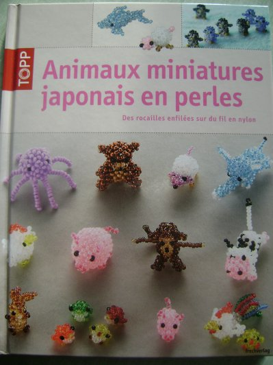 Animaux miniatures japonais en perles