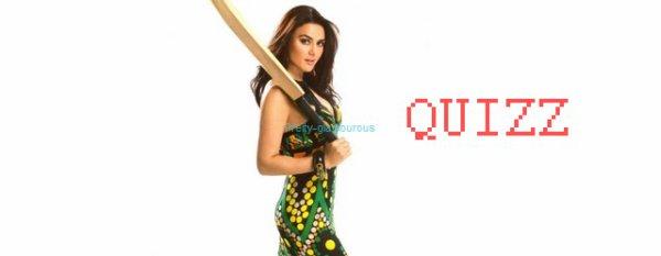 Preity Zinta Quiz