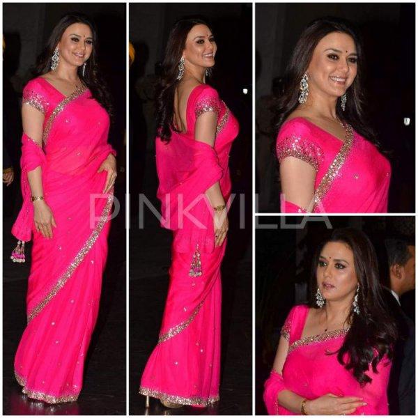 A la Reception de Mariage de Shahid & Mira Kapoor
