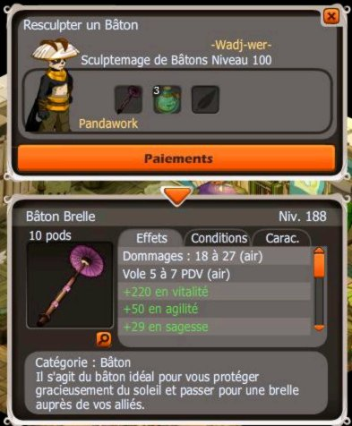Craft , Fm , Achat du Bâtton Brelle!.
