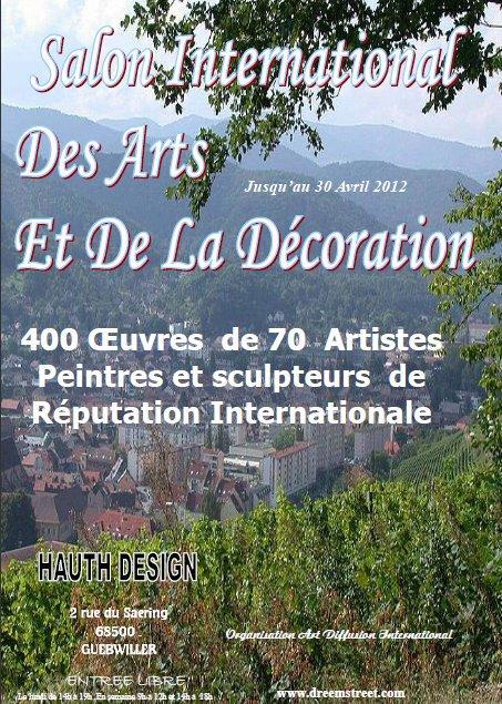 expo du 1 mars au 30 avril  meubles HAUTH  GUEBWILLER  68